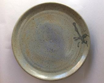 Speckled Stoneware Dinner Plate