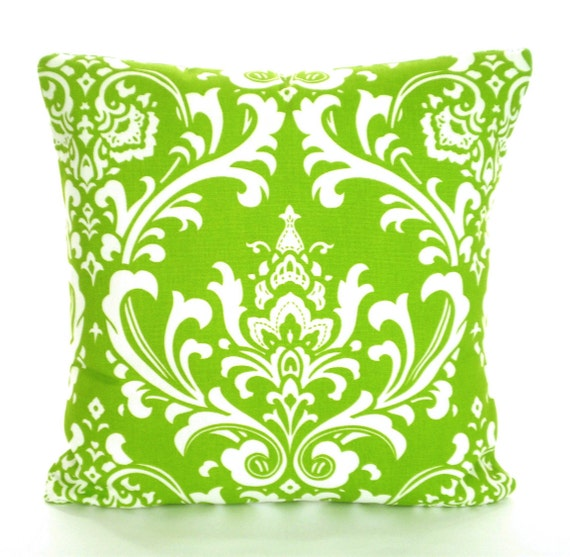 Green Throw Pillows Etsy : Decorative Throw Pillow Covers Green by PillowCushionCovers