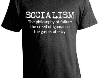 Winston Churchill 'Anti-Socialism' T-Shirt