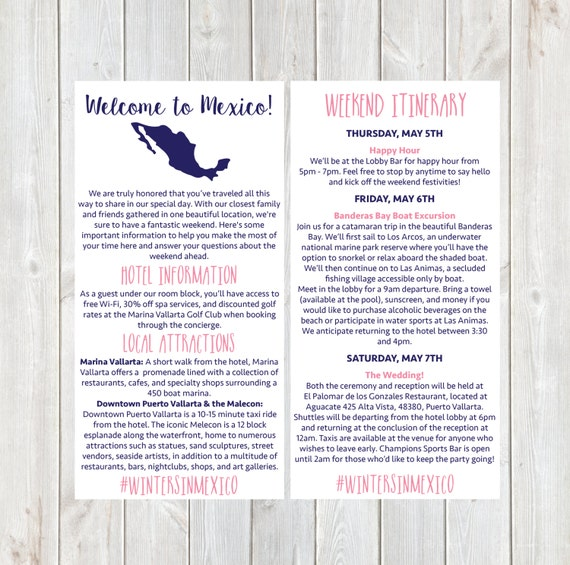 hotel welcome letter exles vrupgrade free checklist welcome letter wedding itinerary hotel welcome letter 113
