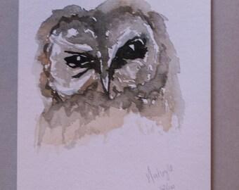62/100 ~ Tawny Owl