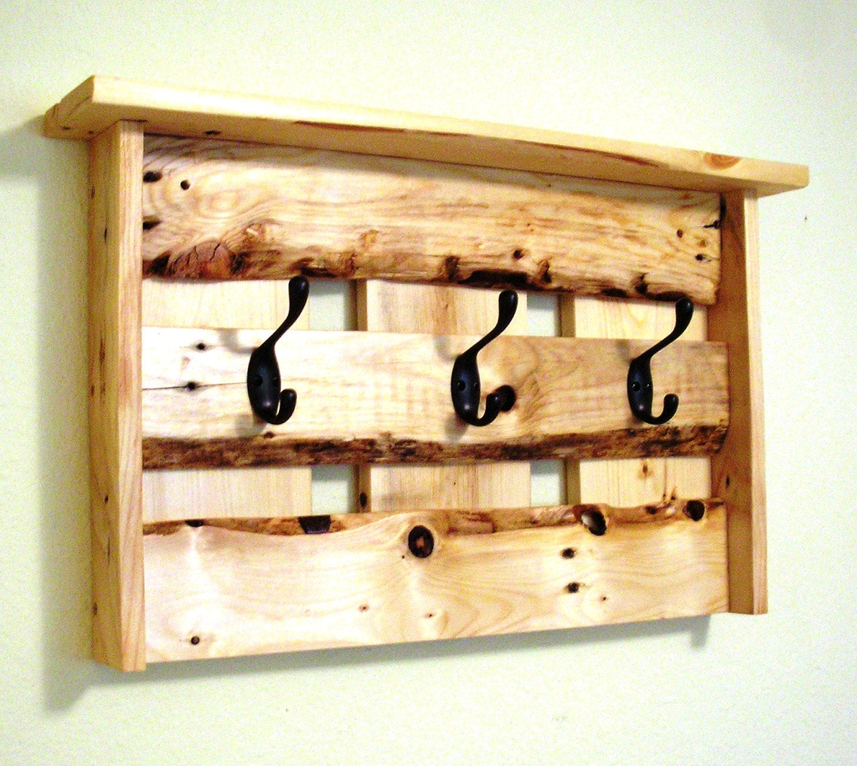 Pallet Wood Coat Rack Repurposed Pallets Pallet Art Pallet