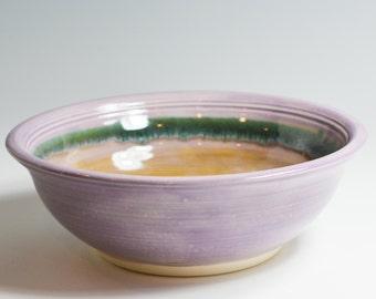 Lavender Serving Bowl