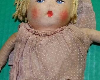 Antique Rag Doll Blondey