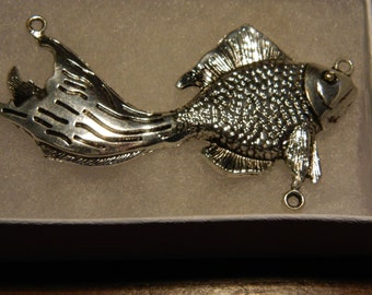 Silver Fish Pendant