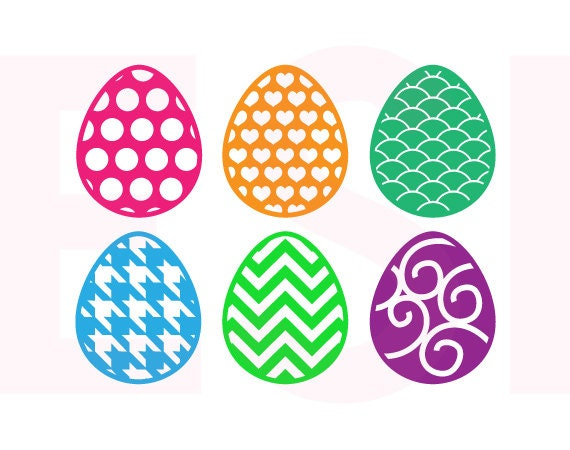 Amazing Easter Svg, Patterned Easter Egg Designs, SVG, DXF U0026 EPS, Vinyl Cut Files,  Svg Cutting Files, For Silhouette And Cricut Explore Machines