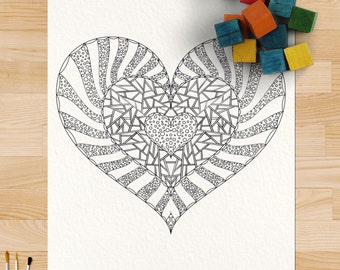Love Coloring Page #0132