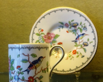 """Aynsley  """"REMBROKE"""" Coffee Cup Saucer  1960s"""