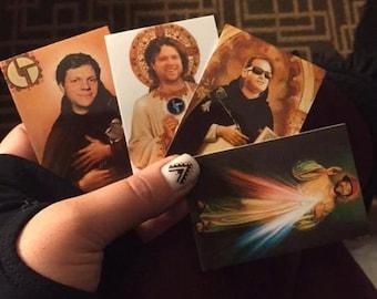 Saint Biscuits sticker pack (4 stickers per pack)