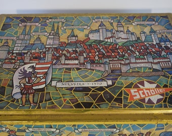 Scholler German Tin Box