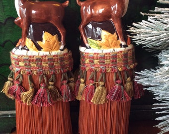 Majestic Deer Decorative Tassels
