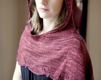 Into the Woods Hooded Capelet