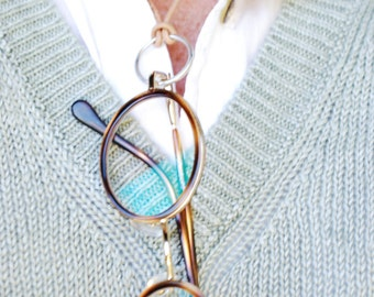 "95* ""Looking Good"" - Necklace for Glasses of Sterling Silver 925"