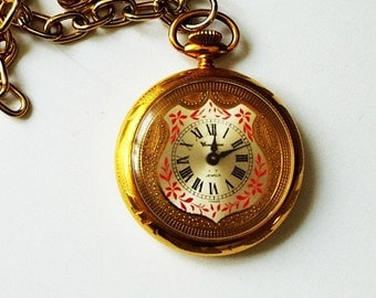 how to wind up a pocket watch