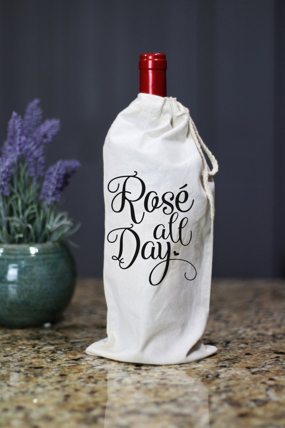 Rose All Day Wine Bag