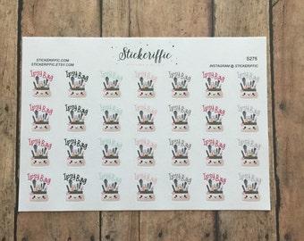 S275  Ipsy Bag Reminder Stickers