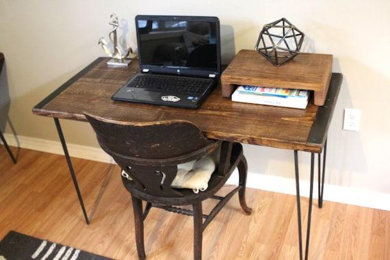 Escritorio mesa escritorio de madera escritorio de la - Escritorios rusticos de madera ...