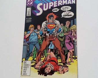 Vintage Superman (2nd Series) Issue #25 1988 DC Comic book