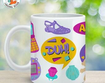Coffee Mug Nineties Cup - I Love the 90's Mug - 90's Mug - 90's Kid Cup