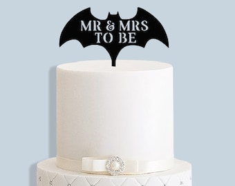 Personalised Batman Cake Topper