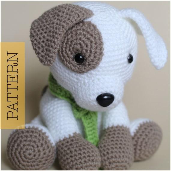 Amigurumi Dog Toy Patterns : Crochet Amigurumi Puppy Dog PATTERN ONLY Jack Pup pdf