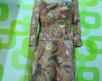 abito vintage,dress ,1960,made in italy