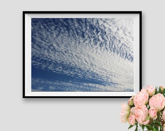 Clouds Print Sky Poster Sky Instant Download Photography Sky Art Clouds Fine Art Sky Decor Sky Overlay Clouds