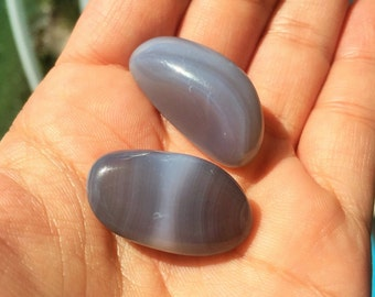 Blue Lace Agate Perfect for Crystal Grids,Protection Amulet, Jewelry Making