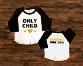 Big Sister Announcement Shirt - Only Child Expiring Shirt - Big Sister To Be Shirt - Announcement Shirt - Big Sister Shirt - Only Child