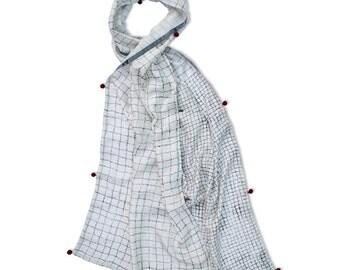 Covent Garden Luxury Wide Silk Scarf