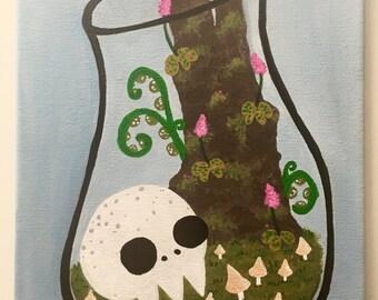 Skull Terrarium