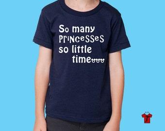 disney shirts / boys disney shirt / kids disney shirt / family disney shirts / cute disney shirts /So Many Princesses T Shirt