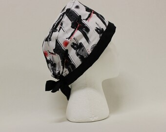 Kylo Ren and Phasma Surgical Scrub Cap Dentist Chemo Hat
