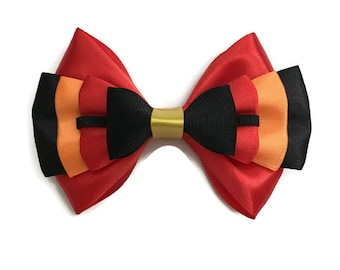 Incredibles Disney Inspired Character Hair Bow From Pixar's The Incredibles