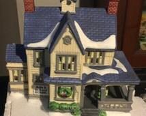 Dept 56 Heritage Village -  Ada's Boarding House - New England Village