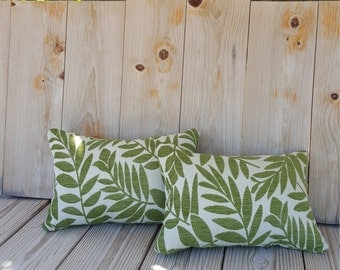 Green Leaf Pillows, Couch Pillows, Accent Pillows. 1 for 29.99. Handmade.