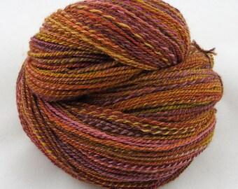 Autumnal - Sport weight hand spun yarn - Wool