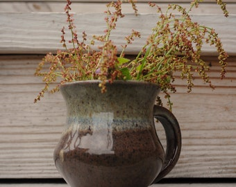 Hand-thrown ceramic mug