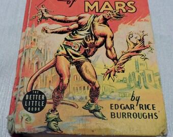 Super RARE! John Carter of Mars BLB Comic Book Very Good Condition--FREE shipping
