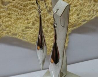 Long earrings Silver 925 earrings elegant SO239