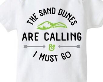 Sand Dunes Onesie, Sand Onesie, Dunes Onesie