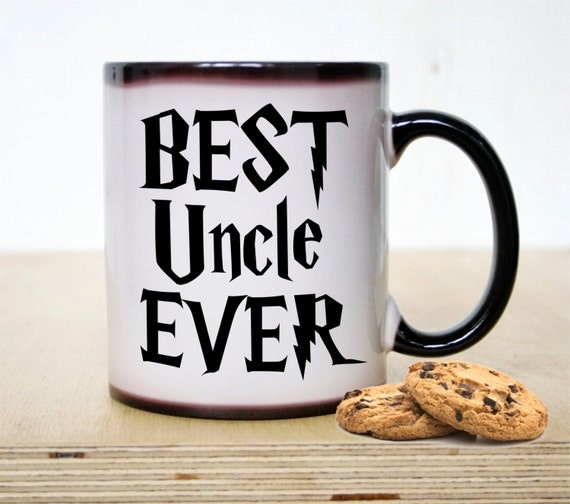 Best uncle ever coffee mug color changing mug coffee mug for Best coffee cups ever