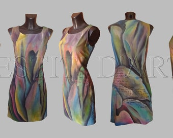 PAINTED DRESS prom dress wedding party dress for womens clothing maxi dress wedding guest dress for evening dress boho dress prom dress 2016