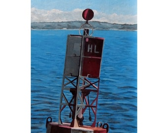 Red Lighted Buoy (painting)