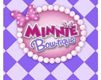 Minnie's Bow-Tique Dream Party Favor Bags 8ct
