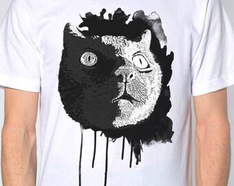Cat t-shirt - animal t-shirt - graphic t-shirt