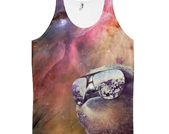 Sloth shirt | sloth tank top, all over print, all over shirt, dank memes,