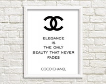 tumbler room decor Chanel teen girl wall art teen girl room decor tumbler room decor coco channel tumblr art tumblr posters tumblr prints