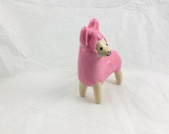 Pink Alpaca Totem
