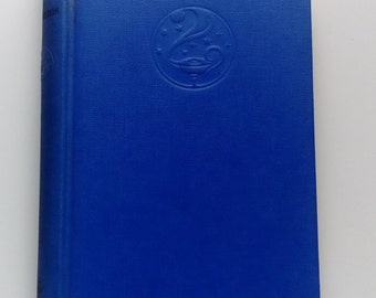 Small Blue Vintage book St. Francis of Assisi by G.K Chesterton 1934